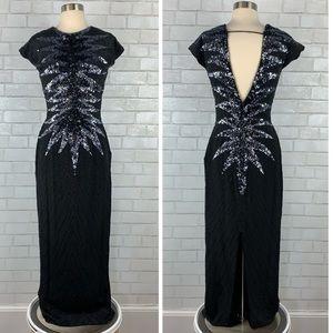 Vintage Alyce Designs Starburst Sequin Dress Q3205